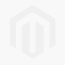 1031 - Front View of Black Flat Bill Hat with Embossed White Rigid Name